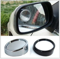 Universal blind spot mirrors for cars - Car mirror new Driver Side Wide Angle Round Convex Blind Spot mirror for Car Rear view mirror Rain Shade