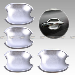 Wholesale Toyota Chrome Door Handles - New Tripled Chrome Door Handle Bowl Cup Cover Trim for Toyota Camry Highlander Avalon 4Runner Sienna Tacoma-CA01173
