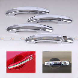 Wholesale Ford Focus Chrome - Free shipping & Tracking #New Chrome Door Handle Cover Trim for Ford Focus hatchback 2006 2007 2008 2009 2010-CA00546