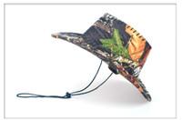 Wholesale Cowboy Rain Hats For Men - free shipping new ariival cowboy hats for men chapeu cowboy mens cowboy hat for male hot sale H225
