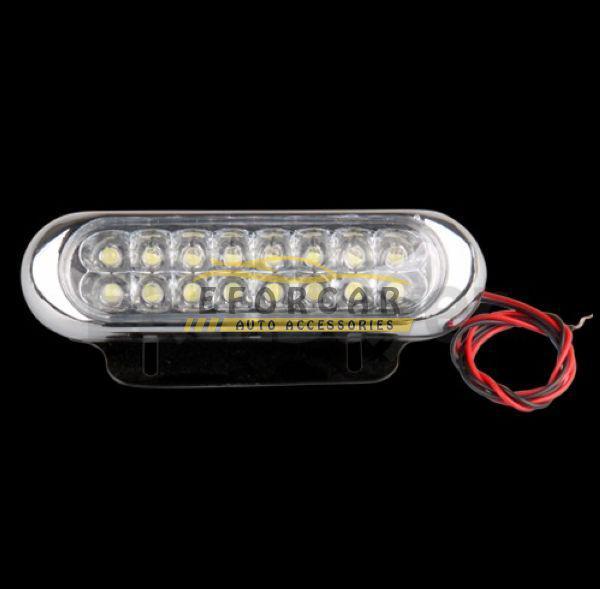 보편적 인 날 안개 주행 자동차 트럭 DRL 16 LED 라이트 램프 화이트 무료 배송