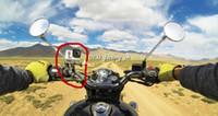 cámara de montaje de motocicleta al por mayor-Nuevo Gopro Bikecycle Handlebar Tija postes Mount Mount Bar Mount Fit Fit 3.5cm-6.35cm Tube Clamp para Gopro Camera HD Hero 1 2 3
