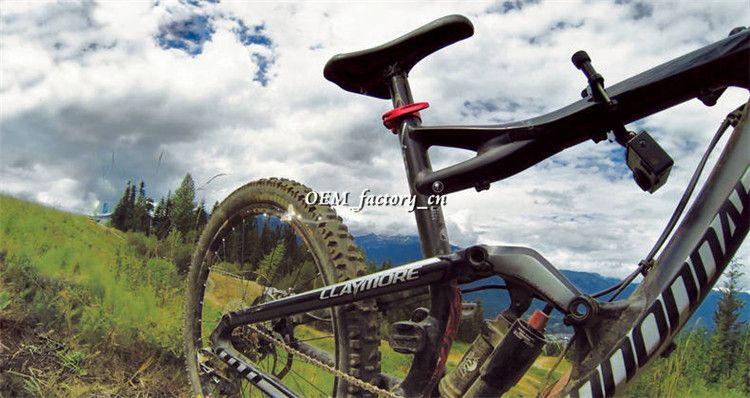 3 4 Bicycle Handle Bar GoPro 3 Ways Bike Handlebar Seatpost Mount Hero HD 1 2