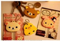 Wholesale Novelty Key Cases - Kawaii Animal Silicon Key Caps Covers Keys Keychain Case Shell Novelty Item,Christmas Gift
