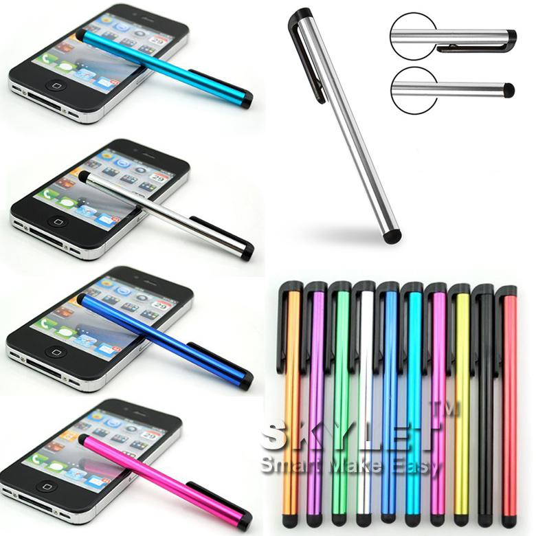 Kapazitiver Stift-Stift-Screen-Stift für ipad Telefon / iPhone Samsung / Tablette PC DHL geben Verschiffen frei