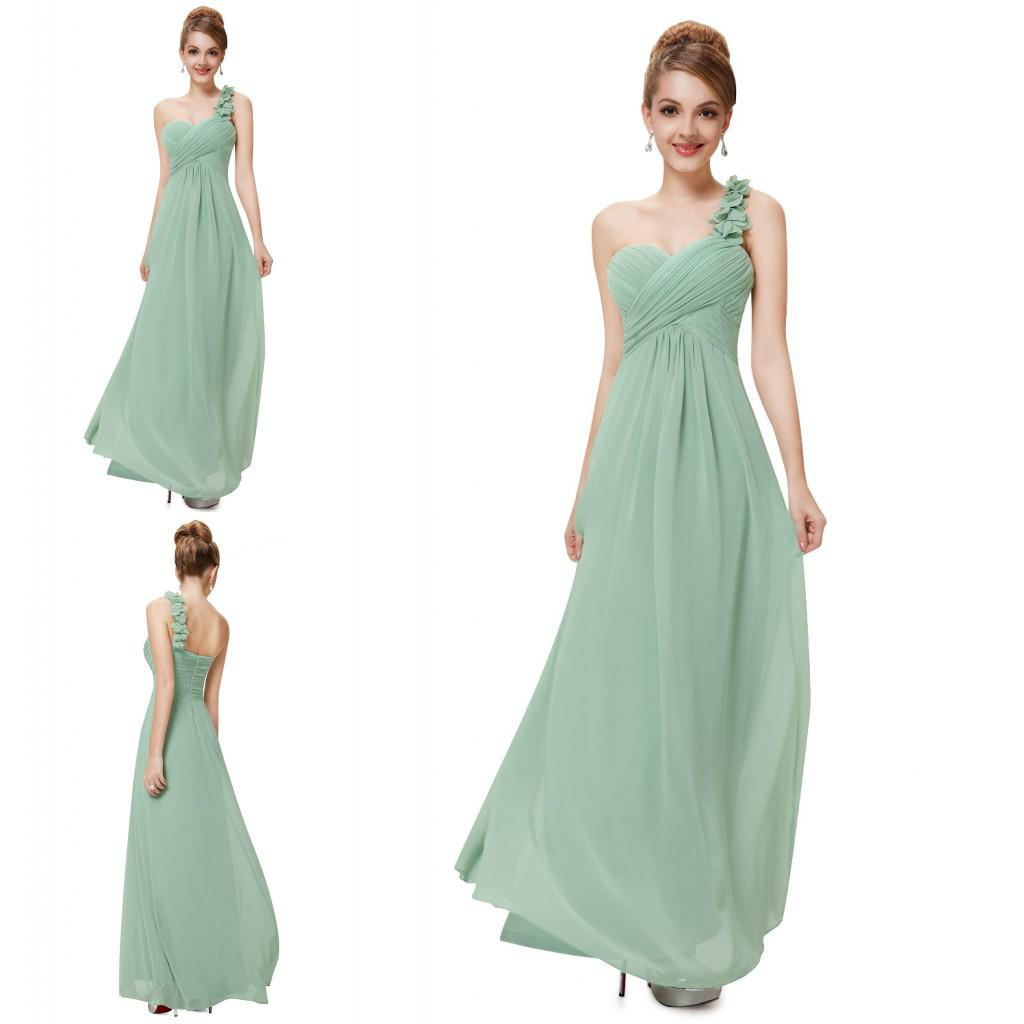 Latest design custom cute bridesmaid dresses beach one shoulder see larger image ombrellifo Image collections