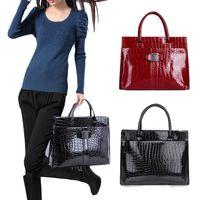 Wholesale Crocodile Hobo Bag - S5Q Crocodile Pattern Handbag For Lady Women Hobo Tote Shoulder Bags AAACXM
