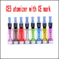Wholesale rohs atomizers for sale - Group buy CE5 atomizer ml Clearomizer with CE mark and ROHS certification E cigarettes various colors instock