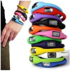 iones deporte reloj de silicona Rebajas Al por mayor-Freeshipping ---- nuevo Silicone Minus Ion Sports reloj pulsera deportes reloj 20pcs / lot