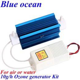 Wholesale Sterilization Machine - BO-11010QNAM, AC220V AC110V 10g h ozone generating tube + power ozone generator kit Drinking water disinfection machine water sterilization