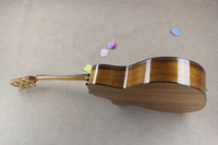 Wholesale 11 String Guitar - 11.High Quality Natural K24CE Acoustic Guitar Top Musical instruments guitar