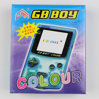 Wholesale Gb Boy - Wholesale-OP-Limited Edition Kong Feng GB Boy Color Colour Handheld Game Consoles Game Player with Backlit 188 in 1 Model