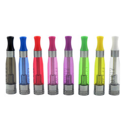 Wholesale e cigarette tank cartomizer - Rich Colors Update CE4 Atomizer CE4S Clearomizer Dual Coil Unit E Cig Tanks Replaceable Core Cartomizer for EGO T EGO W EVOD E Cigarettes