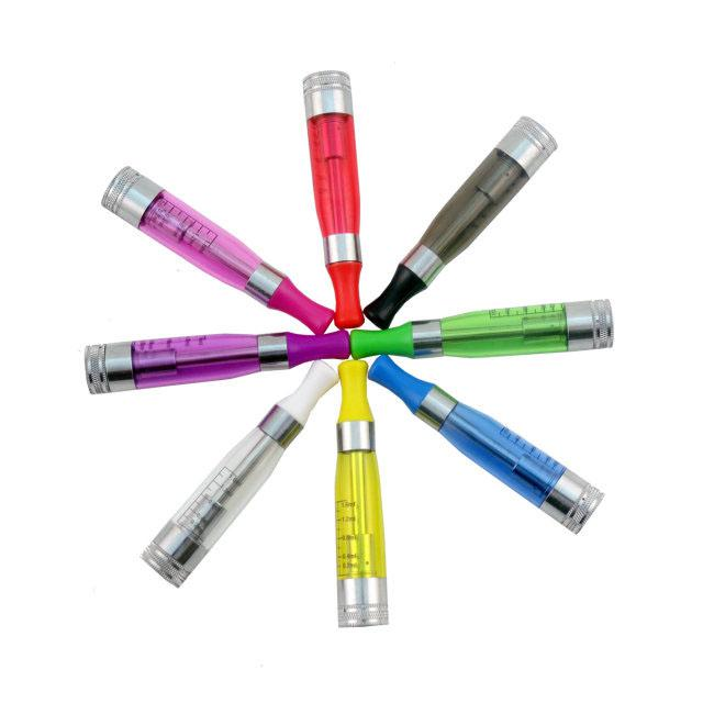 Rich Colors Update CE4 Atomizer CE4S Clearomizer Dual Coil Unit E Cig Tanks Replaceable Core Cartomizer for EGO T EGO W EVOD E Cigarettes