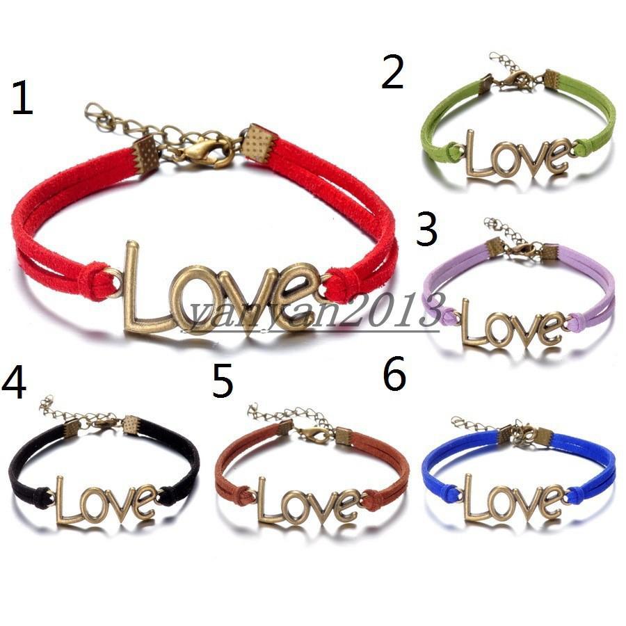 Best Simple Bronze Love Bracelet Jewelry, Couples Jewelry ...