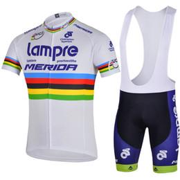 WHITE LAMPRE 2014 Mountain Racing Bike Ciclismo Ropa Conjunto / Transpirable Bicicleta Ciclismo Camisetas Ropa Ciclismo / Manga corta Ciclismo Ropa deportiva desde fabricantes