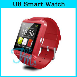 Wholesale Cheap Phones Pink Android - Cheap U8 Smart Watch Bluetooth Phone Smartwatch U Watch Wrist for Android Phone Smartphone New Arrival 002293R