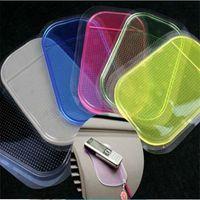 Wholesale Auto Mats Rubber - Mix Color Black Magic Sticky Pad Anti-Slip Mat Non Anti Slip Mat Non-slip Mat Car Auto Dashboard Sticky Pad Holder MP3
