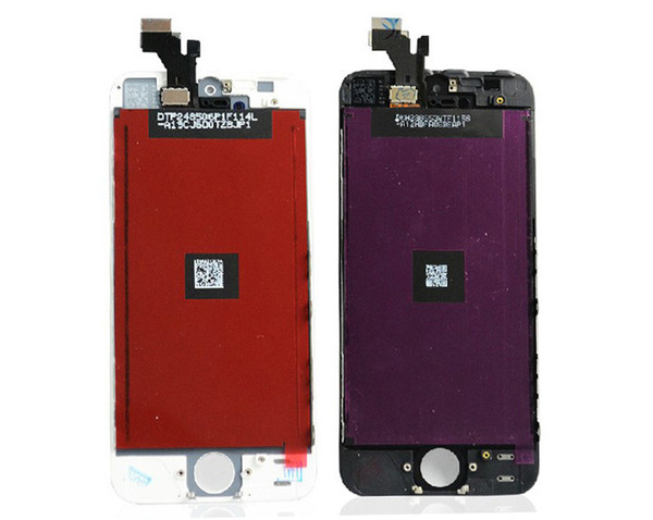 ALL Test iphone 5 5s LCD Display Touch Screen Digitizer Full Assembly for iPhone 5G 5S 5C Replacement Repair Parts 20pcs DHL Ship
