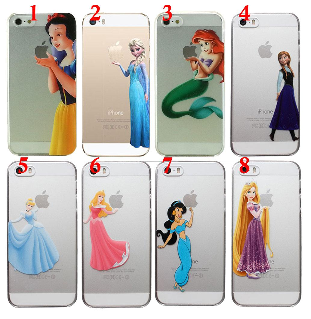 promo code 709c5 bb95c Fairy Princess Eating Holding Apple Logo Phone Case Snow White ...