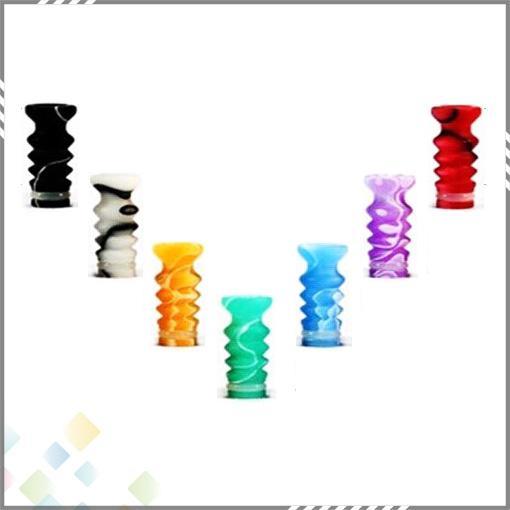Meilleur 510 Ming Drip Astuce EGO Colroful Acrylique Drip Tips pour DCT 510 Clearomizer Coloré En Plastique Mode Ego Embouchure DHL Gratuit