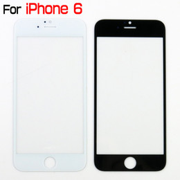 Wholesale Iphone Front Cover Replacement - Quality A- For 4.7inch iPhone6 6s Front Glass Screen Digitizer Touch Panel Screen Cover For iphone 6 Glass lens Replacement Part