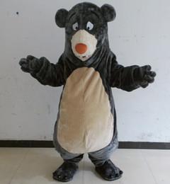 Wholesale Deluxe Mascot - EN71 Deluxe EVA Head Adult baloo bear Mascot Costume bear Mascot Costume Same as Pictured for sale