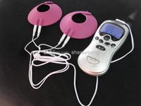 Wholesale Breast Restraints For Bondage - Wholesale - BDSM Gear Electric Shock Breast Cups Electroshock Bondage Adult Sex Toys Products for her