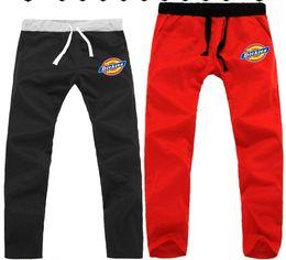 Wholesale Men Dickies - Free shipping 2014 unisex dance Pants HIP HOP SkateBoarding Dickies SweatPants cotton Pants 7 colors chinese size S-3XL