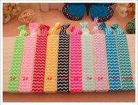 Wholesale Yoga Hair Ties Wholesale - FOE elastic Yoga Hair ties knotted Tie bands lucky hair tie girl's Hair accessories 100pcs lot drop shipping