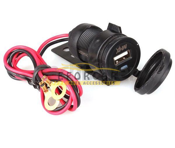 12V Impermeable Coche Motocicleta HandleBar Celular Cargador USB Adaptador de corriente Envío Gratis Auto Parts Venta Caliente