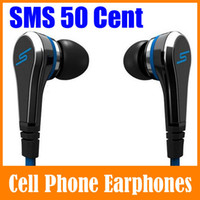 Wholesale Sms Ear Best - High Quality SMS By 50 Cent Street Stereo In Ear Headphones Earphone For iPhone Samsung S6 MP3 Best Value 50cent Headset With Retail box