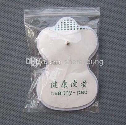 Sticky Electrode Pads With 3.5mm Plug 4pin Cable Accessories for TENS EMS Machine Electric Shock Therapy Massager Health Care Items