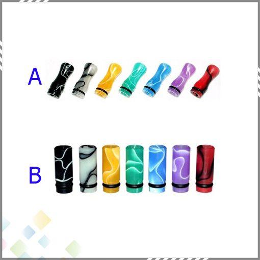 510ミングドリップチップ自我プラスチックドリップヒントマウスピース510電子タバコクリアマイザーDHL無料