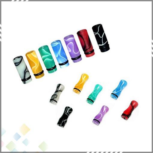 510 Ming Drip Tip Ego Plast Tips Munstycke Färgglada för 510 Elektronisk Cigarette Clearomizer DHL Gratis