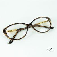 ingrosso occhiali da colata-Occhiali da vista Occhiali da vista vintage Occhiali da vista Cornice montatura in metallo Casting Korea Grace Eyewear Good Quality 4 Colors 12pcs