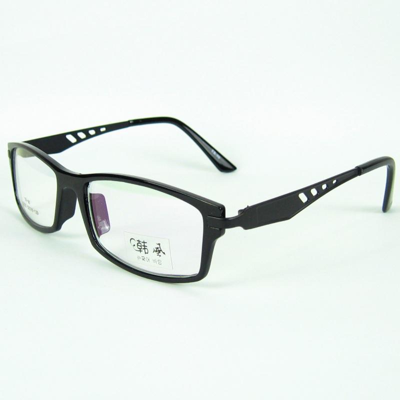 Klassischer Rahmen des Brillen-Brillen-TR90 mit klaren Linsen PC und Metallmaterial gute Quality/