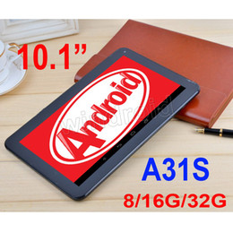 "Wholesale Bluetooth Otg - 10"" 10.1"" inch Allwinner A31S Quad Core Android 4.4 Tablet PC MID 1024*600 1G 8G 16G 32G HDMI Bluetooth BT OTG Dual camera play store DHL"