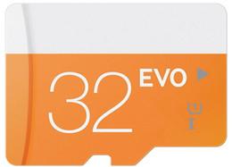 Wholesale Dhl Free 32gb - 2017 New Arrival EVO 64GB 32GB 16GB 8GB Micr SD Card MicroSD TF Memory Card Class 10 Flash SDHC SD Adapter Free Retail Package DHL Freeship