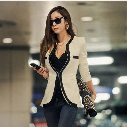 e1b30c44712 2019 2018 New Spring Autumn Winter Suit Fashion Women Suit Coat Jacket Slim  OL Work Suit Casual Korean Ladies Girls Clothing Blazers Outerwear W6 From  ...