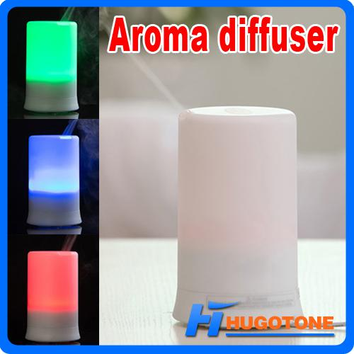 top popular Mini Portable Aromatherapy Diffuser Colorful Home Humidifier 100ML Aroma Diffuser Diffusion Air Purifier Baby Humidifier Festival Gifts 2021