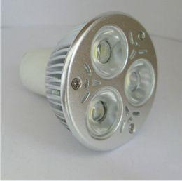 Wholesale Mr 16 9w - Dimmable 9W Cree 220V MR16 12V LED Bulb Lamp High Power MR 16 spot Light Spotlight LED lights downlight lighting