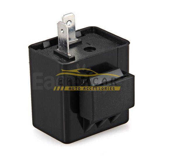 Turn Signal Flasher Blinker Relay 12V 2 Pin Motorcycle LED Indicator Light Wholesale