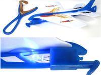 panfleto de seta levado venda por atacado-Mais recente venda Quente cintilação Incrível avião voando flicker Luminous ejection plane brinquedos infantis