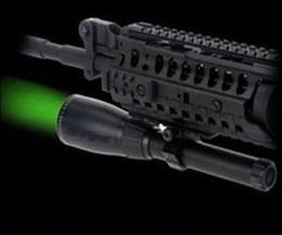 Wholesale Rifle Laser Designator - Tactical green laser flashlight Night hunting Designator with switch Mount Long distance laser light for rifle