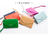 Wholesale Crown Smart Pouch Wallet Case - Hot Selling CPAM pu leather crown smart pouch mobile phone bag case card holder fashion purse wallet, free shipping