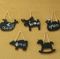 Wholesale Wooden Chalkboard Wall Animal on the small blackboard animal other stationery writing board dandys