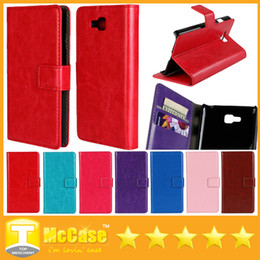 Wholesale Lg L5 Optimus Leather - Wallet PU Leather Flip Stand Case Luxury Cases With Credit Card Slots For LG Optimus L9 L7 L5 L3 II , G3 , G2 , G3 MINI , L90 , L80 , L70 ,