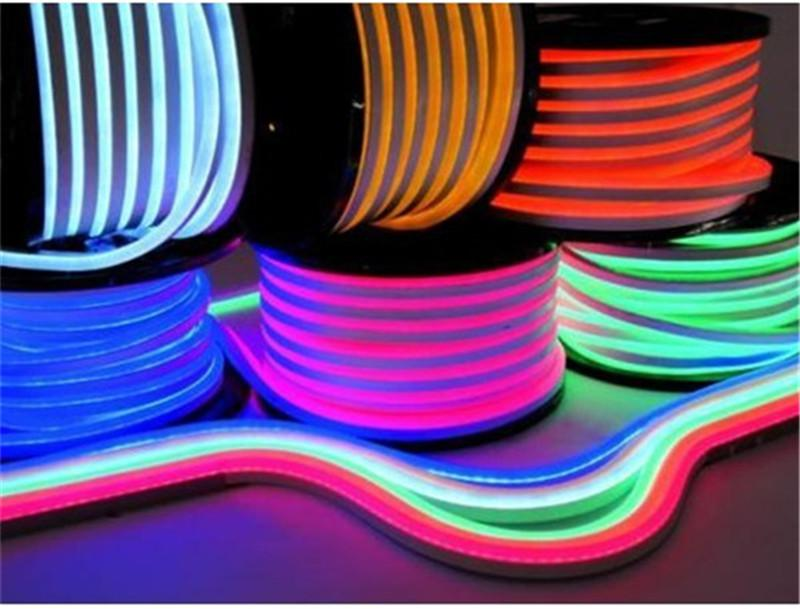 New Arrival LED Neon Sign Flex Rope Light PVC LED Light Strips Indoor/Outdoor LED Flex Tube Disco Bar Pub Christmas Party Decoration