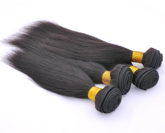 Trade AAAAA 100% brazilian Virgin Remy hair weave silky straight mix length 12'' - 32'' 3.5oz/pc factory outlet price